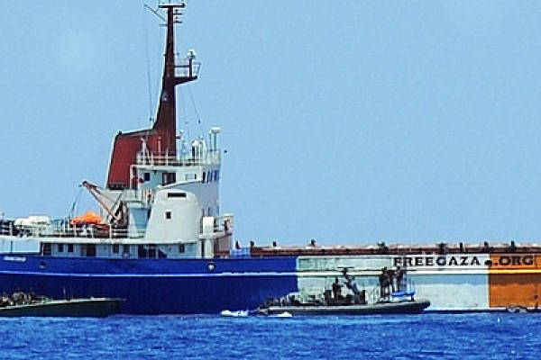 The Israeli inquiry into its lethal response to the Gaza flotilla is a transparent sham. In the photo: the flotilla boarded by IDF troupes (photo: Israel MFA)