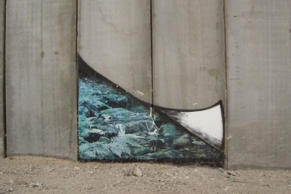 Art on the Separation Barrier in Bethlehem (photo: James Chen)