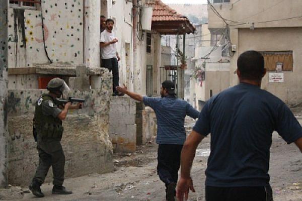 Riots in Silwan Today. Photo by Joseph Dana