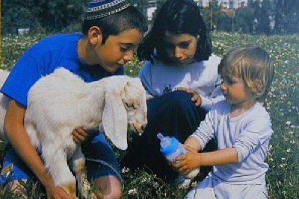Children at the settlement of Itamar (credit: Itamar settlement website)
