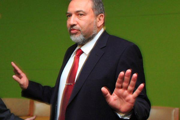 Avigdor Lieberman (photo: Greek FMA/Flickr)