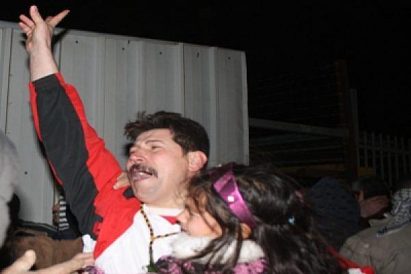 Bil'in's Adeeb Abu Rahmah, Free. Photo: Joseph Dana