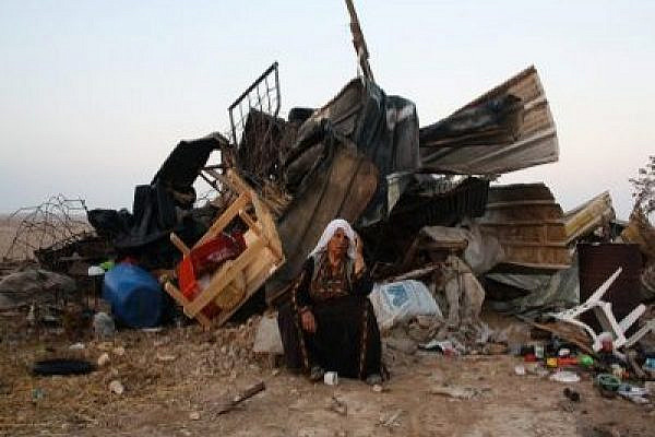 Was al-Araqib Destroyed for the last time today? Photo: Joseph Dana/Popularstruggle.org