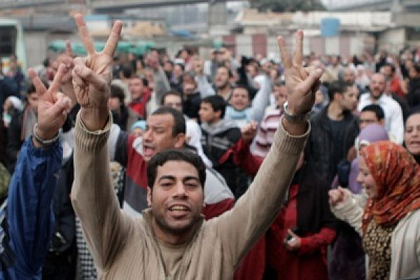 Cairo protesters (photo: Sarah Carr/Flickr)