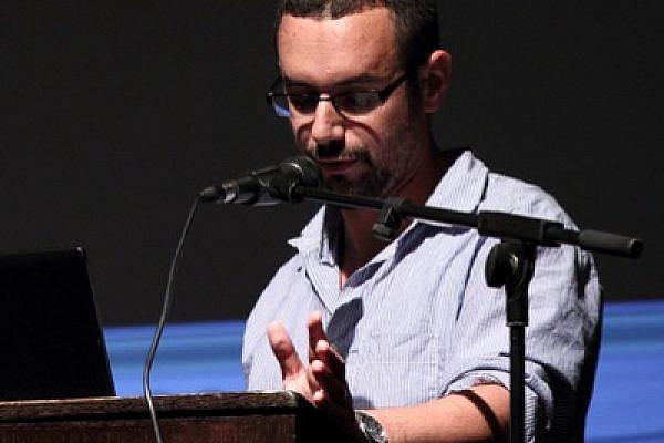 Mikhael Manekin of Breaking the Silence (photo: Yossi Gurvitz)