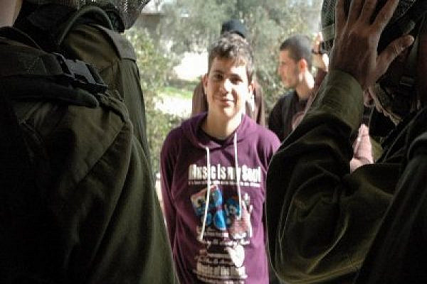 Islam Tamimi was arrested on Sunday night. Photo: Alison Rammer