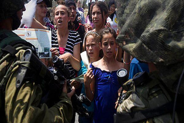 Children in Nabi Saleh. Photo: Activestills.org