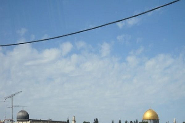 View of Al Aqsa Mosque and Dome of the Rock (Photo: Mairav Zonszein)