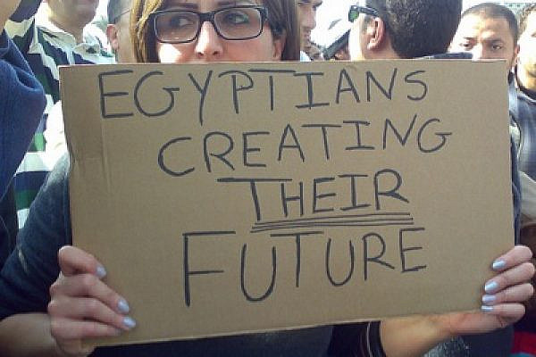 Protesters at Cairo's Tahrir Square (photo: Ramy Raoof/Flickr)