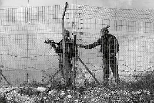 IDF gunmen in Bil'in. (Yossi Gurvitz)