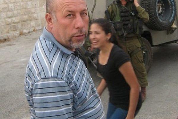 Nagey Tamimi in Nabi Saleh (photo: Joseph Dana)