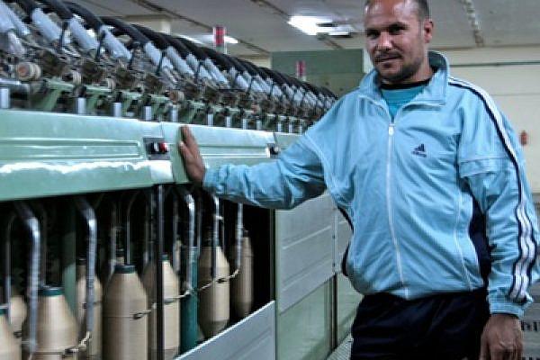 Shebin textile factory worker