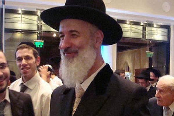 Chief Ashkenazi Rabbi Yona Metzger (Photo: Wikimedia Commons)