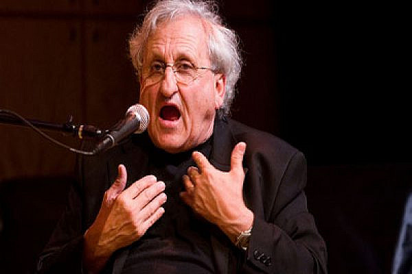 A.B. Yehoshua in conversation. Photo: flickr.com