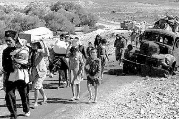 Palestinian refugees flee to Lebanon, late 1948 (Photo: Gnuckx, CC license)