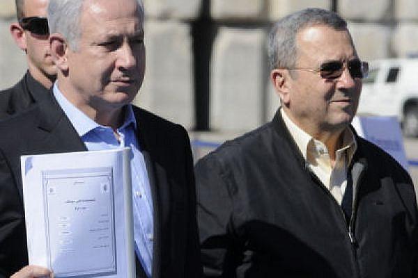 Mad dogs? Binyamin Netanyahu and Ehud Barak (photo: Israel Defense Forces)