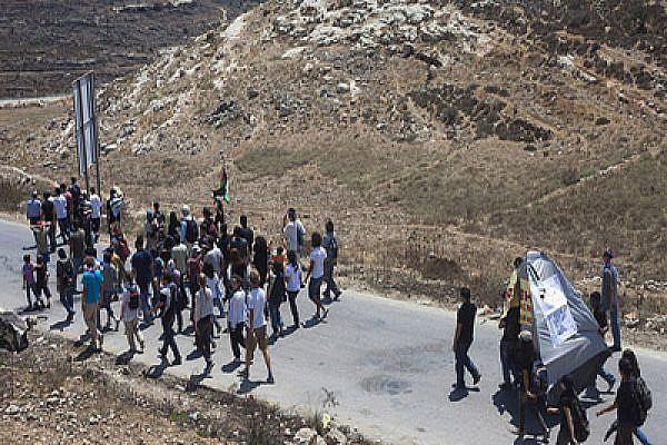 Protest in Nabi Saleh, West Bank. Photo by Oren Ziv/activestills.org