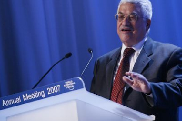 Abbas speaking at the World Economic Forum 2007 (Photo: Yoshiko Kusano/World Economic Forum