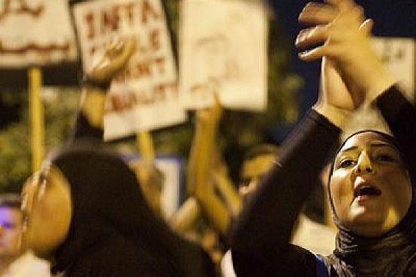 Social protest in Jaffa, 27 August, 2011 (Photo: Keren Manor/Activestills)