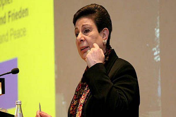 Hanan Ashrawi. Photo from Wikipedia Commons