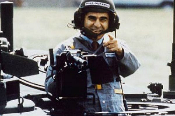 Michael Dukakis in tank (photo: youtube)