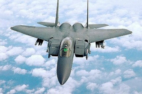 American F-15 (photo: wikimedia commons)