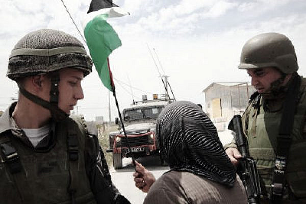 The suppression of a popular uprising corrupts the military. IDF troops in Al Ma'asara, 2010. (Photo: Yossi Gurvitz)