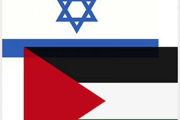 Israel Palestine flags (wikimedia)