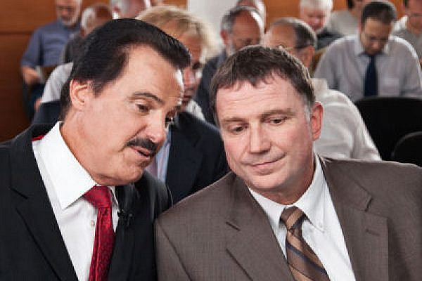 "All Arabs are apprently ""deplorable.' Edelstein (on the right). (Photo: drmikeevans, CC BY-SA 2.0)"