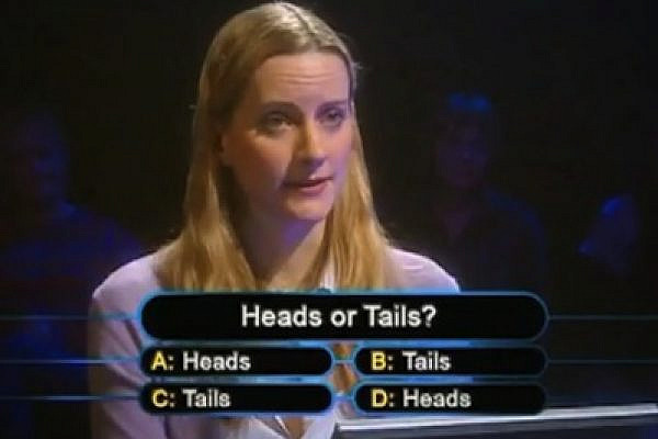 heads or tails (photo: youtube)