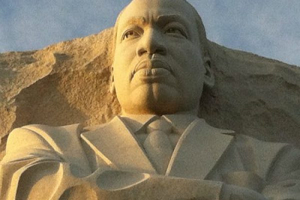 Bust of Martin Luther King, Jr at US National MLK Memorial, Washington DC, January 2012 (photo: Roee Ruttenberg)