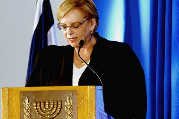 Dorit Beinish, retiring president of the HCJ (Photo: Government press office, CC BY-NC-SA 2.0)