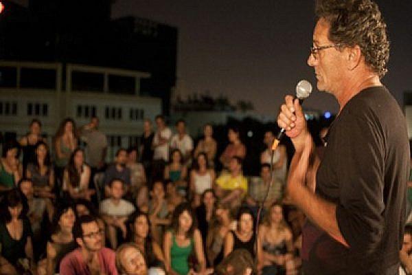Mohammad Bakri in Tel Aviv last September (photo: Keren Manor / Activestills)
