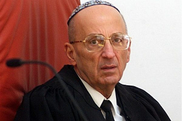 Retired Israel Justice Edmond Levy's record reveals a state bound by the vision of full civic equality for all (Photo: Eyal Warshavsky)