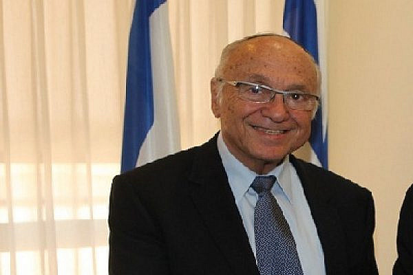 Justice Minister Yaakov Neeman (Photo: UK in Israel - CC BY-NC 2.0/flickr)