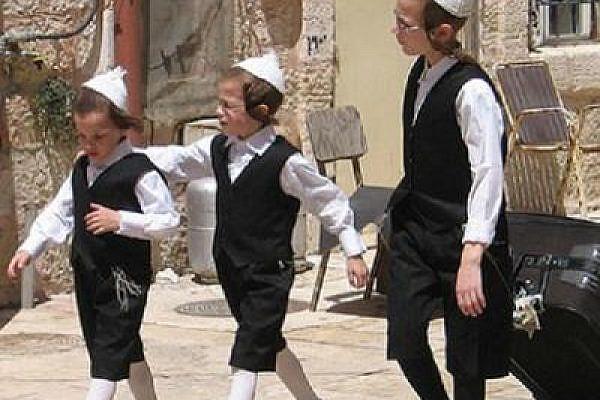 Haredi kids in Jerusalem (Photo: Flickr/yoavelad)