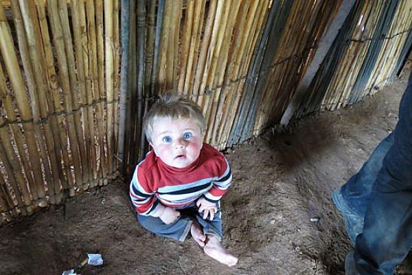 Bedouin boy (Yuval Ben-Ami)