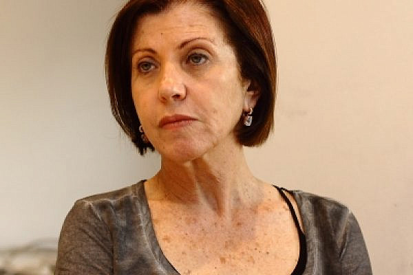 Meretz leader Zehava Gal-On (photo: Yossi Gurvitz)