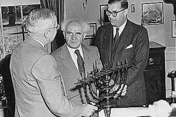 Not a liberal bone in his body. David Ben Gurion (Photo: Us National Archive)
