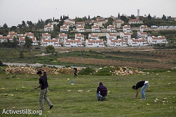 Settlement of Halamish, next to Nabi Saleh (Activestills)