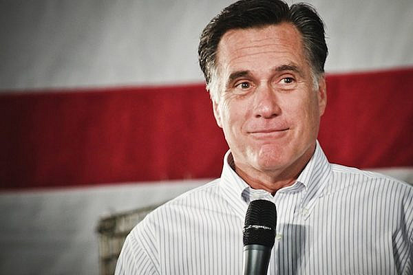 Republican Presidential Candidate Mitt Romney (davelawrence8/CC BY NC-ND 2.0)