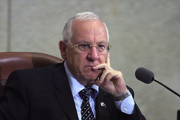 Reuven Rivlin (Photo: Jstreet CC)