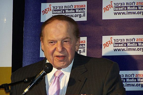 Sheldon Adelson (7theye.org.il/CC BY NC SA 2.0)