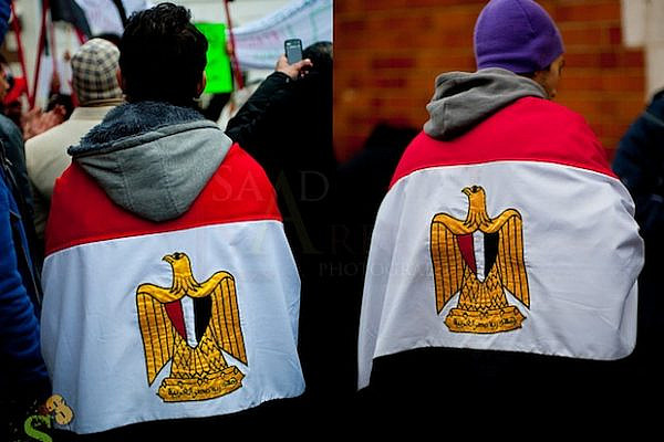 Egyptian supporters of Arab Spring (Saad Sarfaz Sheikh CC BY NC ND 2.0)