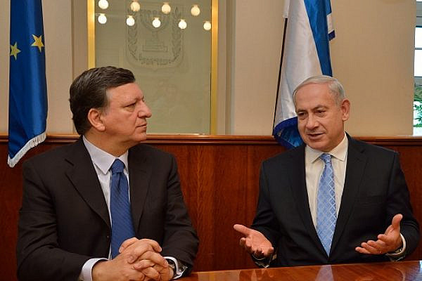European Commission President Jose Manuel Barroso meets with Benjamin Netanyahu, Prime Minister of Israel  (photo: European External Action Service - EEAS/flickr license CC BY-NC-ND 2.0)