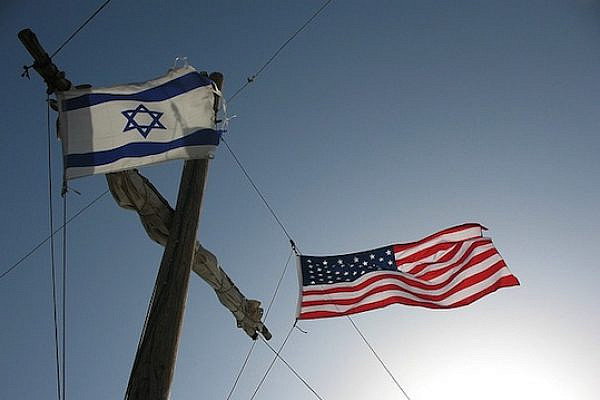 Israeli and American flags (photo: flickr / hoyasmeg CC BY 2.0)