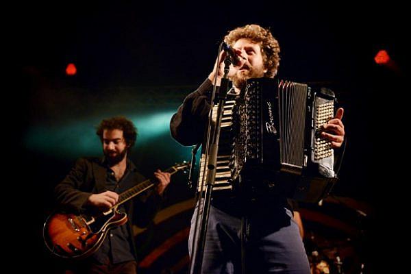 Habiluim preforming at IndieNegev Festival, 2012 (photo: Goni Riskin)