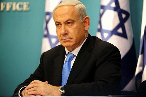 Prime Minister Benjamin Netanyahu announcing the cease fire between Israel and Hamas (photo: Koby Gidon/ Government Press Office)
