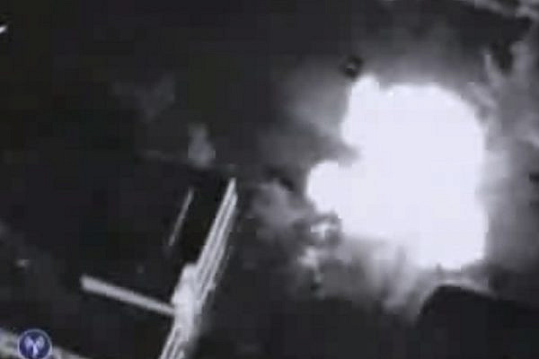 Assassination of Hamas leader Ahmed Al-Jabari, November 14 2012 (video: IDF Spokesperson)