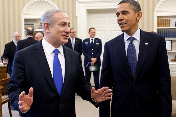 President Obama and Prime Minister Netanyahu (photo: Pete Souza / white house)